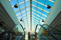 2 escalators Images libres de droits