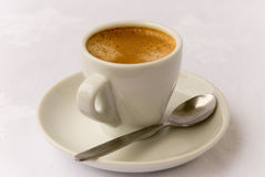 2 espresso kubki fotografia royalty free