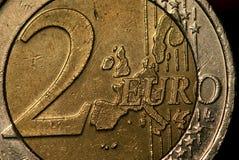 2 euro Royalty Free Stock Photos