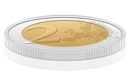 2 euro coin Stock Image