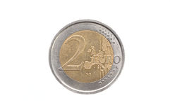 2 euro coin Stock Images