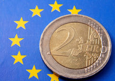 2 Euros Royalty Free Stock Photo