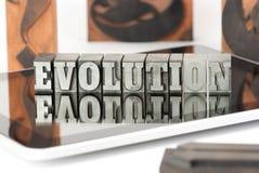 2 ewolucja Obrazy Stock