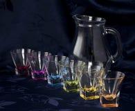 2 exponeringsglas kanna Royaltyfria Bilder