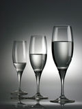 2 exponeringsglas wine Arkivbild