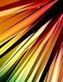 2 färgrika strålar stock illustrationer