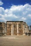 2 fördärvar synagogan Arkivfoton
