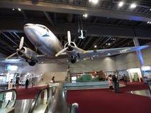 2/F de Zaal van de tentoonstelling in het Museum van de Wetenschap van Hongkong Stock Foto's