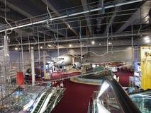 2/F de Zaal van de tentoonstelling in het Museum van de Wetenschap van Hongkong Royalty-vrije Stock Afbeelding
