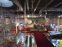 2/F Exhibition Hall in Hong Kong Science Museum Royalty Free Stock Photos
