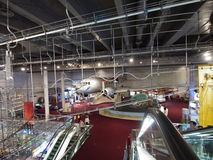 2/F exposición pasillo en museo de ciencia de Hong-Kong Imagen de archivo libre de regalías