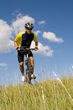 #2 faisant du vélo Image libre de droits