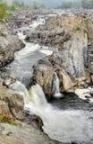 2 falls Royaltyfria Foton