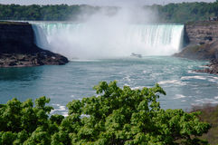 2 falls niagara Arkivfoton