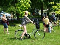 2. Familien-einen.Kreislauf.durchmachensammlung, Lublin, Polen Stockfotografie
