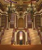 2 fantazj pałac Obrazy Stock