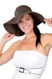 2 fashion hat Στοκ εικόνες με δικαίωμα ελεύθερης χρήσης