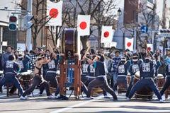 2 festival japan matsumoto Royaltyfri Fotografi