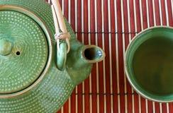 2 filiżanek teapot Fotografia Stock