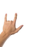 2 fingers Stock Image