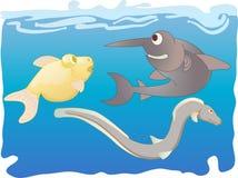2 fiskar Arkivfoto