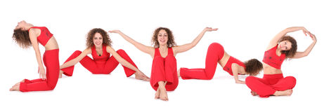 2 fizycznej fitness grupy Fotografia Royalty Free
