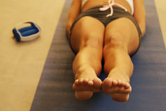 2 fizycznej kobiet s fitness Zdjęcie Stock