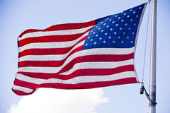 2 flaga amerykańska Obraz Royalty Free