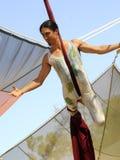2 flyg- acrobatics Royaltyfri Bild