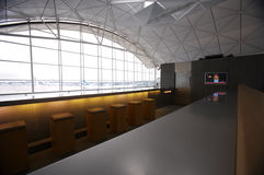 2 flygplats hk Royaltyfri Fotografi