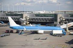 2 flygplats schiphol Arkivfoto
