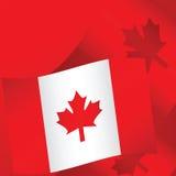 2 fond Canada Image stock