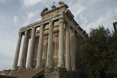 2 forum romana Fotografia Royalty Free