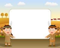2 fotografii ramowy dziękczynienie Obraz Stock