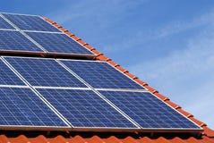 2 fotovoltaici Fotografie Stock Libere da Diritti