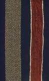 2 fronteras de oro del cordón en negro Imágenes de archivo libres de regalías