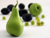 2 frukter Arkivfoton