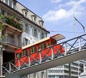 2 funiculares viejos Foto de archivo