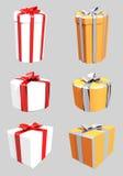 2 gåva tre vektor illustrationer
