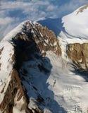 2 gór dżdżysty wierzchołek Zdjęcie Stock