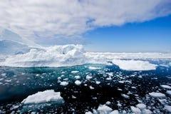 2 góra lodowa Obrazy Royalty Free
