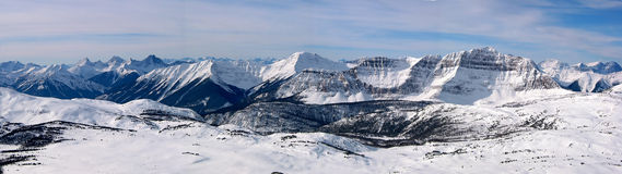 2 góry panoramiczny Zdjęcia Royalty Free