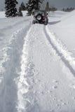 2 głęboki śnieg Obrazy Royalty Free