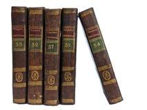 2 gammala böcker Fotografering för Bildbyråer