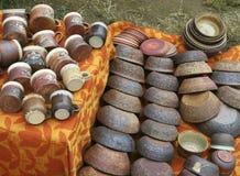 2 garncarstwo ceramicznych Zdjęcie Royalty Free