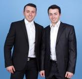 2 gents Стоковые Фото