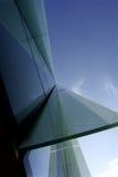 2 geometrii buduje perspektywy Obraz Stock