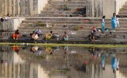 2 ghats udaipur 免版税库存照片