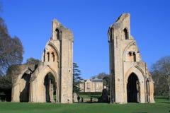 2 glastonbury的修道院 免版税库存图片