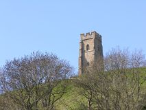 2 glastonbury tor Obrazy Stock